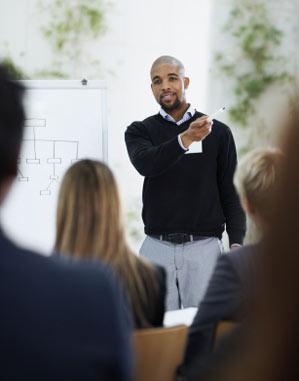 Presentation training in Scotland