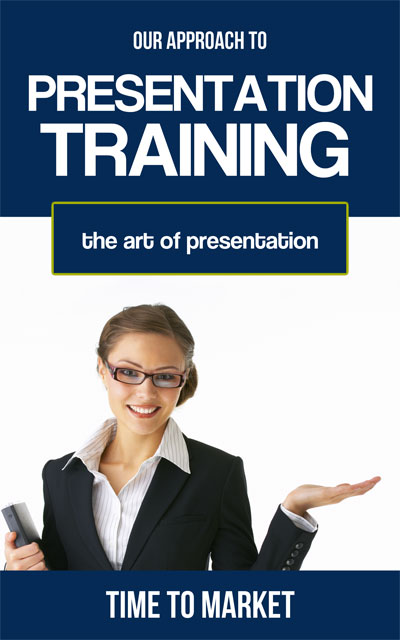 Approach to presentation training