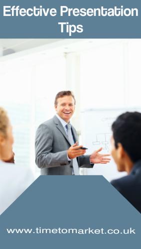 Effective presentation tips