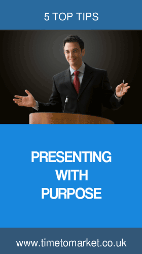 Presenting with purpose