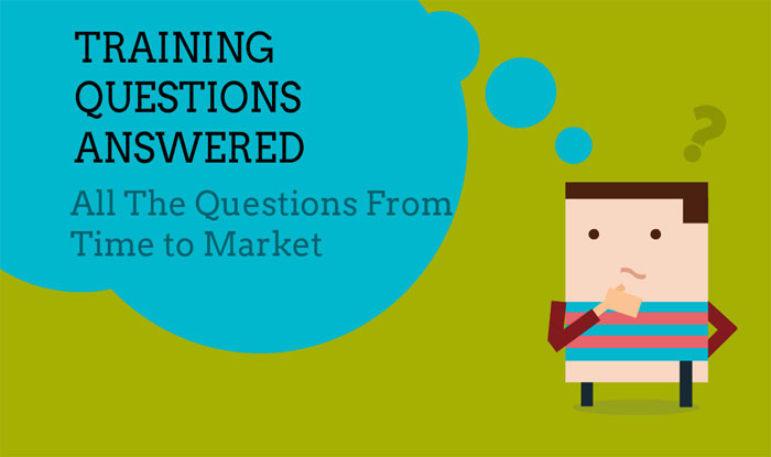 Training questions answered