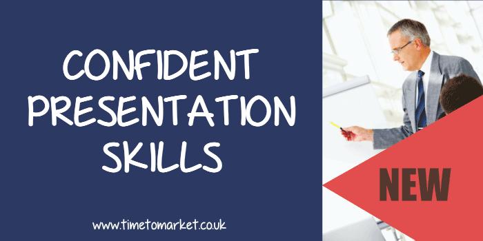 Confident presentation skills