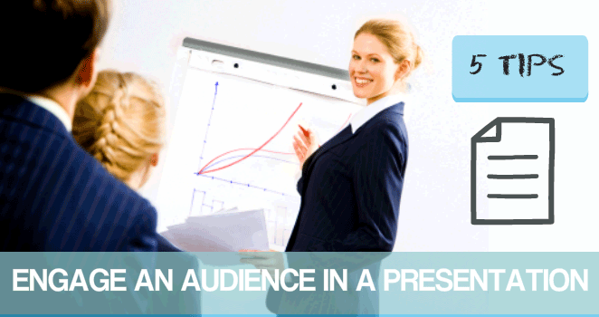 How to engage an audience in a presentation