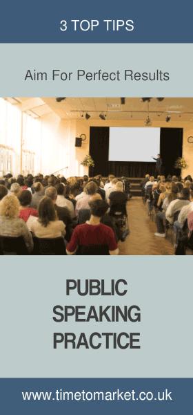 Public speaking practice