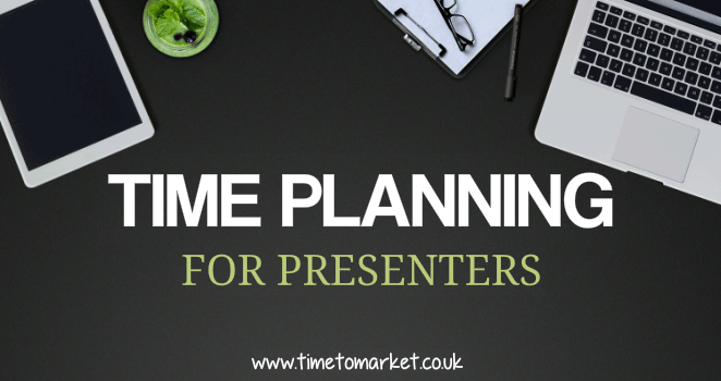 Time planning for presenters