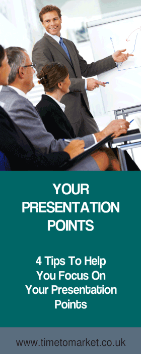 Your presentation points