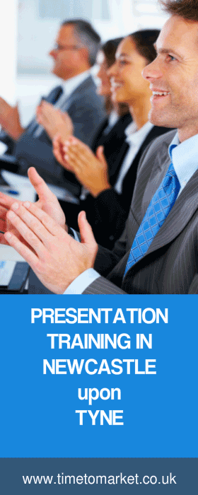 Presentation training in Newcastle upon Tyne