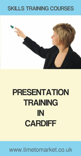 Presentation training in Cardiff