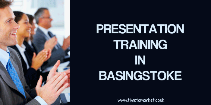 Presentation training in Basingstoke