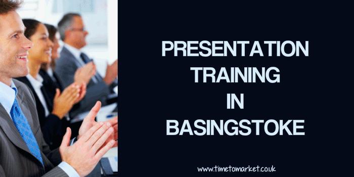 Presentation training in Basingstoke