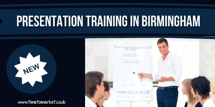 Presentation training in Birmingham