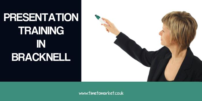 Presentation training in Bracknell