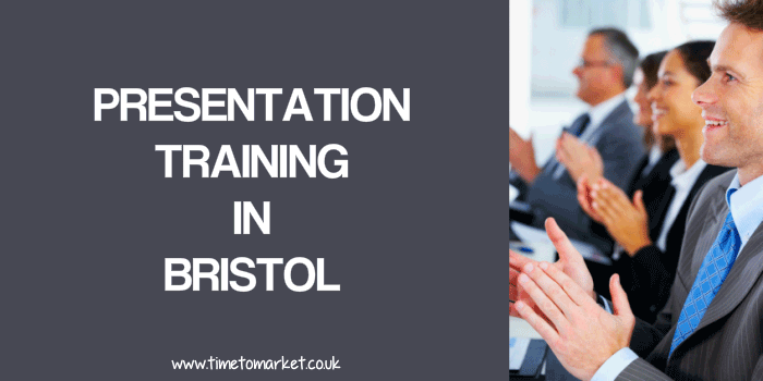presentation training in Bristol
