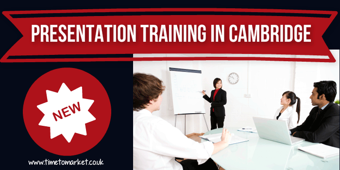 Presentation training in Cambridge