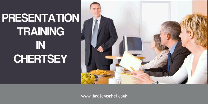 Presentation training in Chertsey
