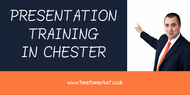 Presentation training in Chester