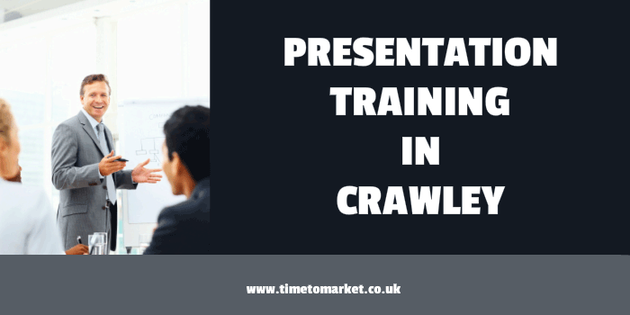 Presentation training in Crawley