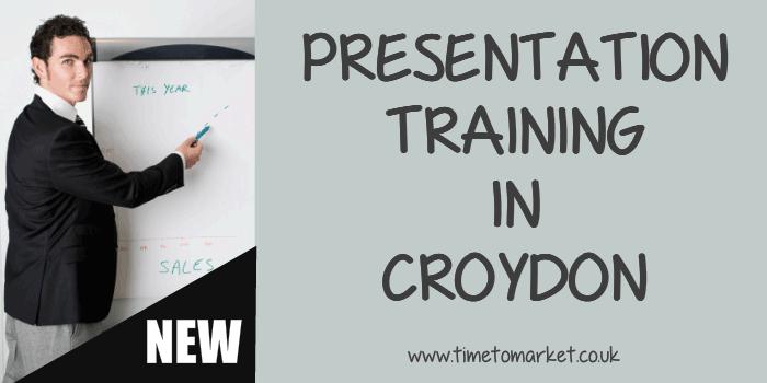 Presentation training in Croydon