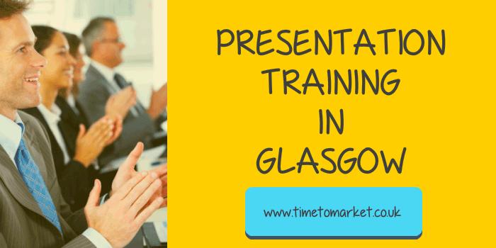 Presentation training in Glasgow