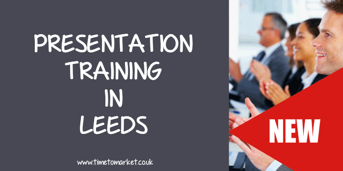 Presentation training in Leeds