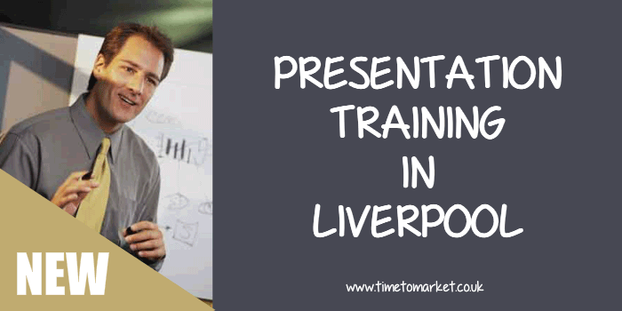 Presentation training in Liverpool