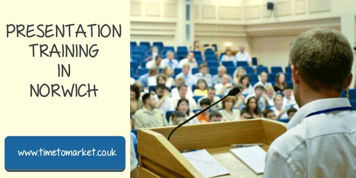 Presentation training in Norwich