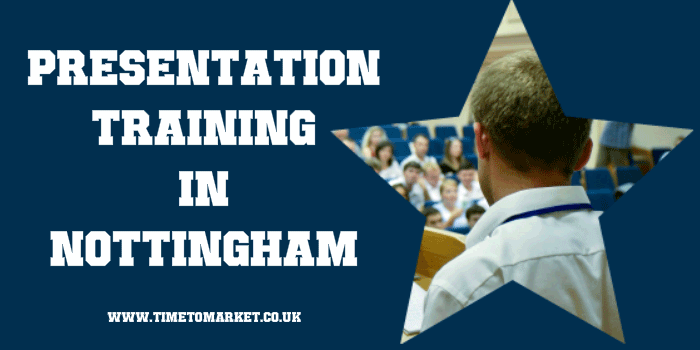 presentation training in Nottingham