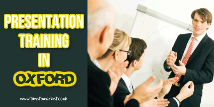 Presentation training in Oxford