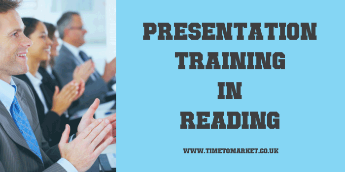 Presentation training in Reading