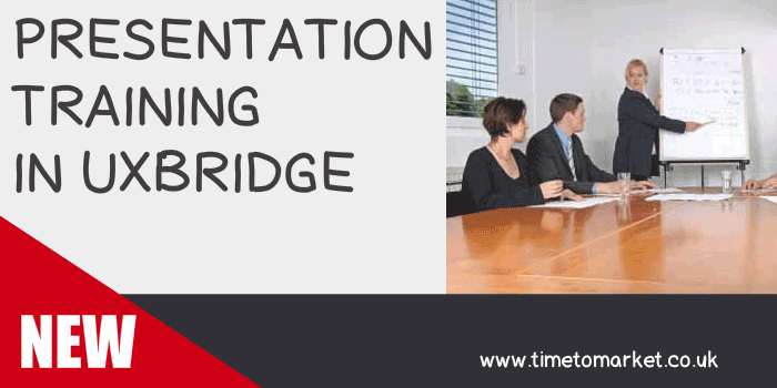 Presentation training in Uxbridge