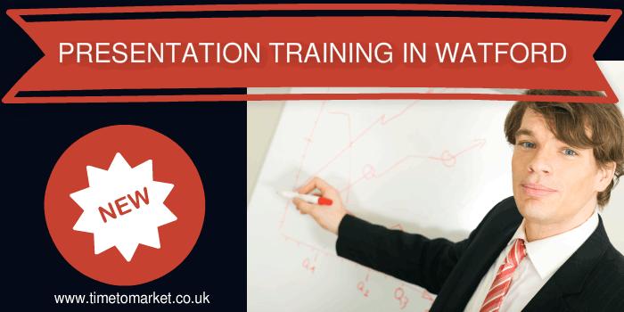 Presentation training in Watford