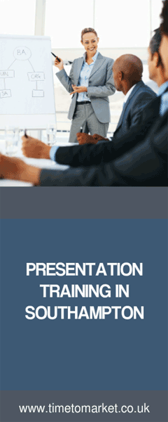 Presentation training in Southampton