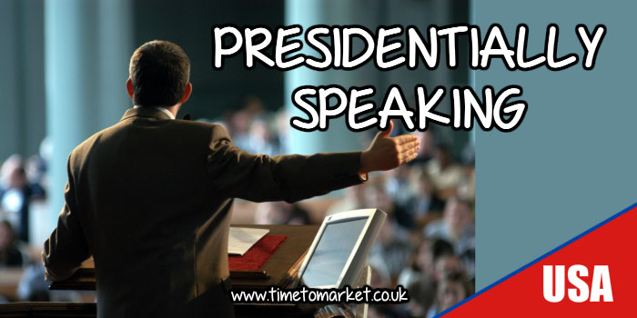 Presidentially speaking
