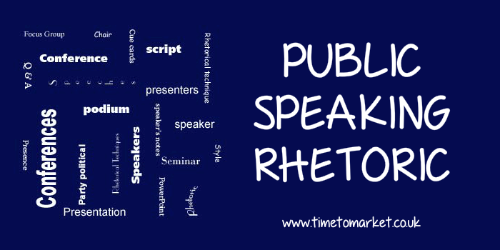 Public speaking rhetoric