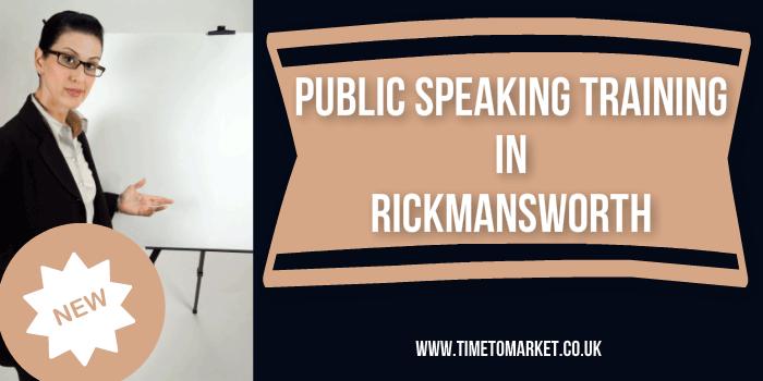 Public speaking training in Rickmansworth
