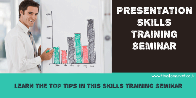 Presentation skills training seminar