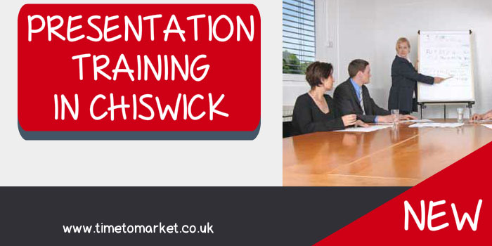 Presentation training in Chiswick