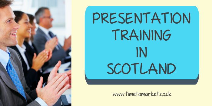 Presentation training in Scotland