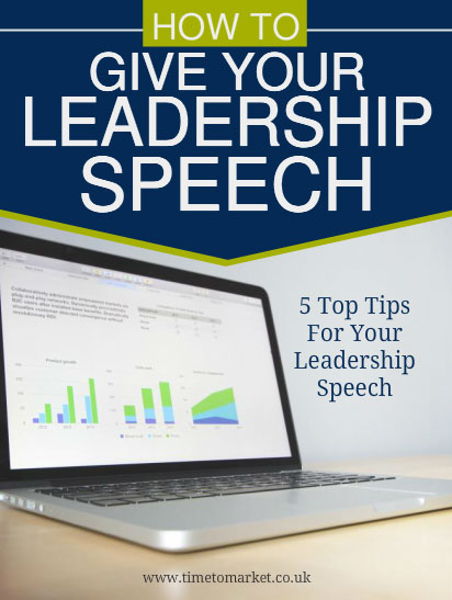 Leadership speech