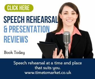 Speech rehearsal
