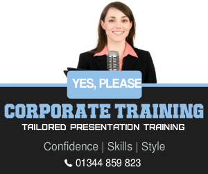corporate presentation course