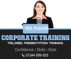 corporate presentation course