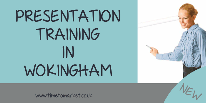 Presentation training in Wokingham
