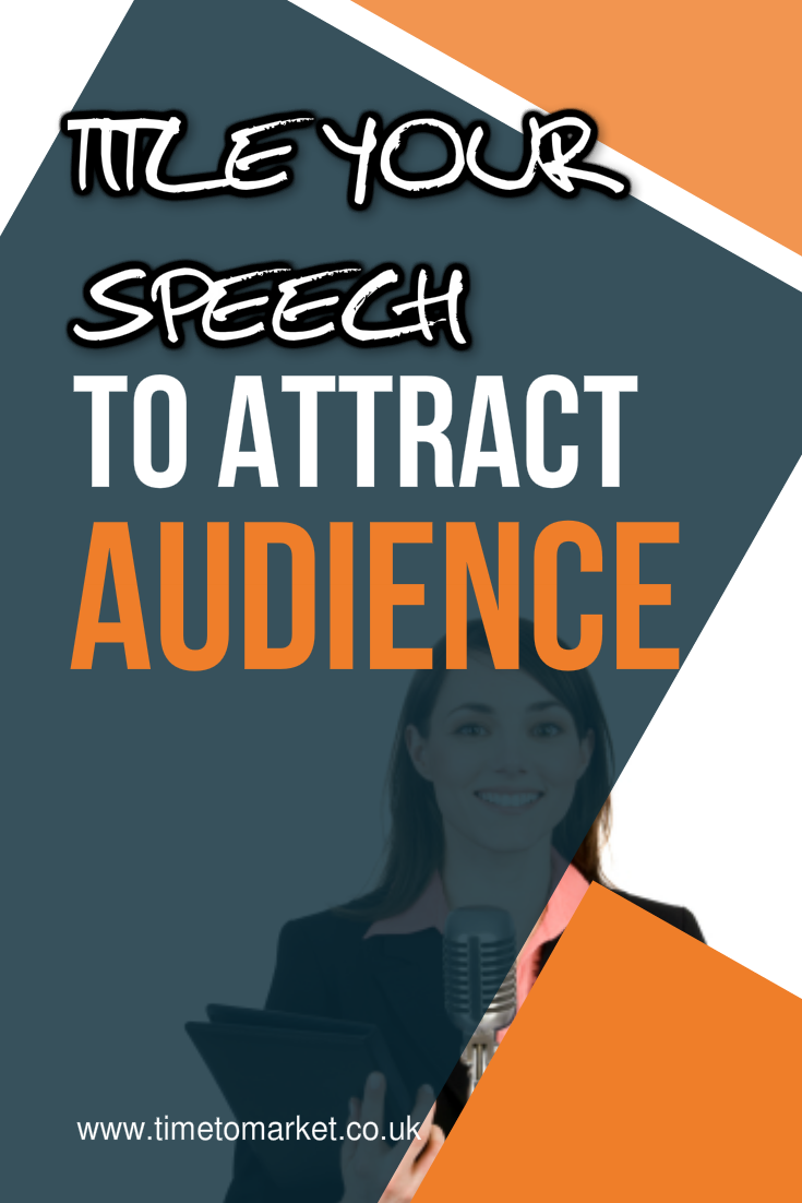 speech titles to attract an audience