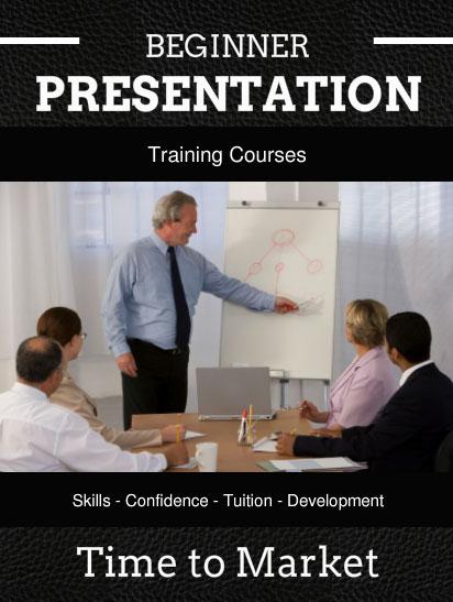 beginner presentation training