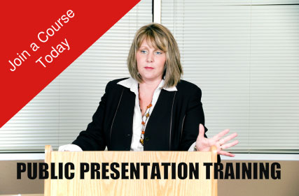 public presentation training