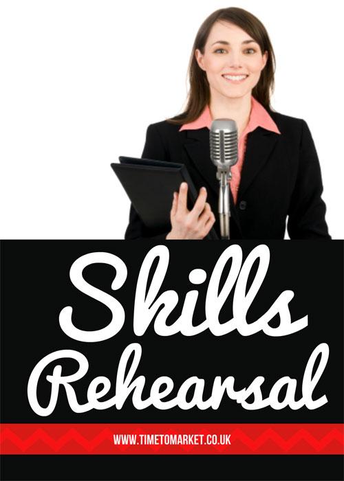 presentation skills rehearsal