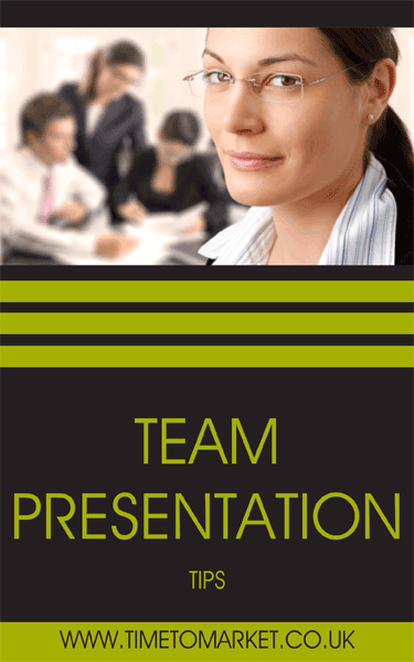 Team presentation tips