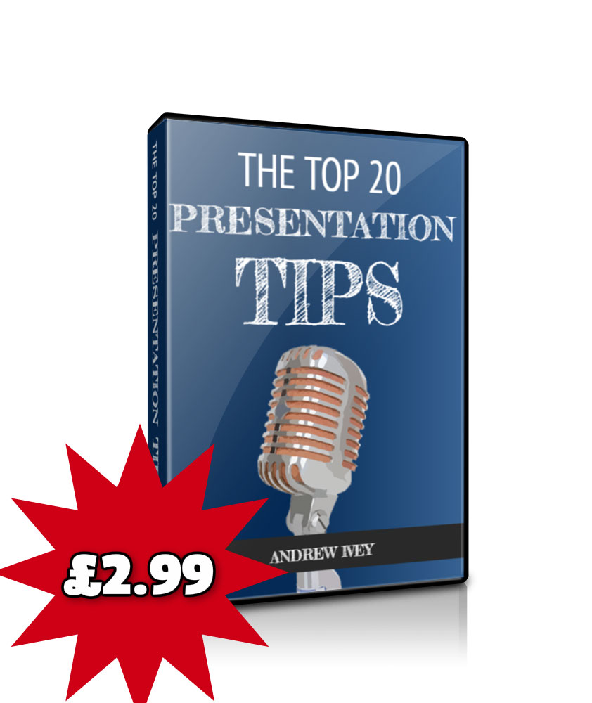 Top 20 presentation tips