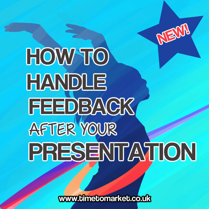 how to handle feedback after your presentation